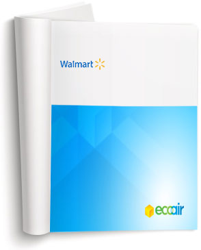 Learn how ecoair destratified Wamart.  Read about the benefits of air quality and destratification in Walmart's warehouses across Canada